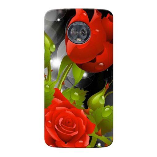 Rose Flower Moto G6 Mobile Cover
