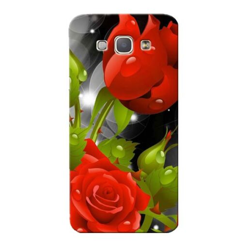 Rose Flower Samsung Galaxy A8 2015 Mobile Cover