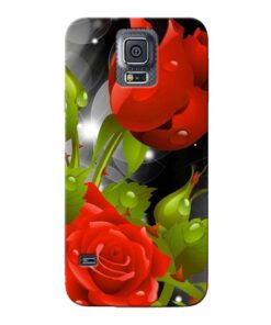 Rose Flower Samsung Galaxy S5 Mobile Cover