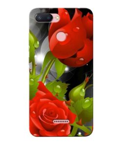 Rose Flower Xiaomi Redmi 6 Mobile Cover