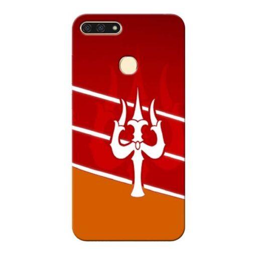 Shiva Trishul Honor 7A Mobile Cover