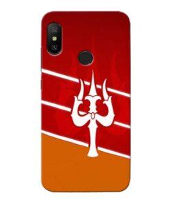 Shiva Trishul Xiaomi Redmi 6 Pro Mobile Cover