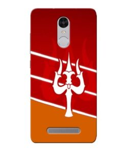 Shiva Trishul Xiaomi Redmi Note 3 Mobile Cover