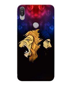 Singh Lion Asus Zenfone Max Pro M1 Mobile Cover