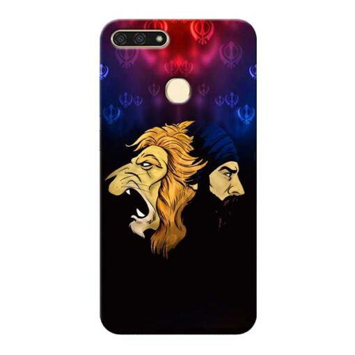 Singh Lion Honor 7A Mobile Cover