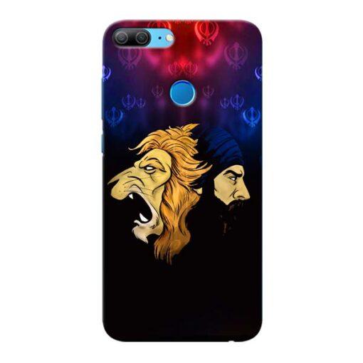 Singh Lion Honor 9 Lite Mobile Cover