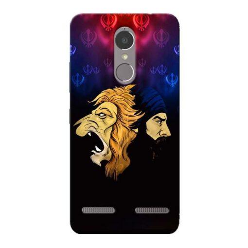 Singh Lion Lenovo K6 Power Mobile Cover