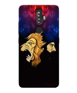 Singh Lion Lenovo K8 Plus Mobile Cover