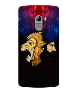 Singh Lion Lenovo Vibe K4 Note Mobile Cover
