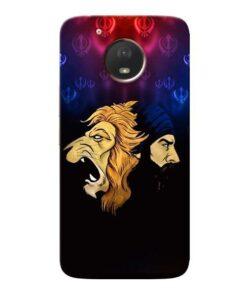 Singh Lion Moto E4 Plus Mobile Cover