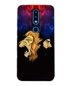 Singh Lion Nokia 6.1 Plus Mobile Cover