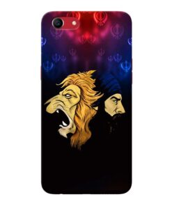 Singh Lion Oppo A83 Mobile Cover