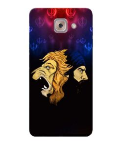 Singh Lion Samsung Galaxy J7 Max Mobile Cover