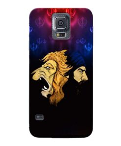 Singh Lion Samsung Galaxy S5 Mobile Cover