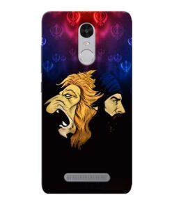 Singh Lion Xiaomi Redmi Note 3 Mobile Cover