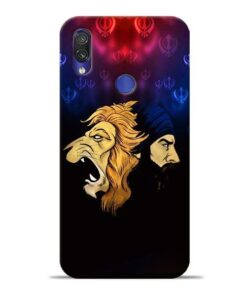 Singh Lion Xiaomi Redmi Note 7 Mobile Cover