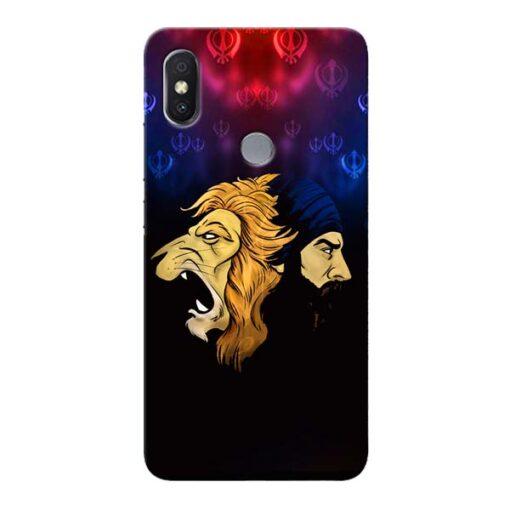Singh Lion Xiaomi Redmi S2 Mobile Cover