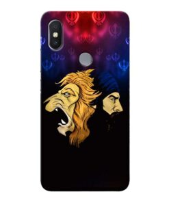 Singh Lion Xiaomi Redmi Y2 Mobile Cover