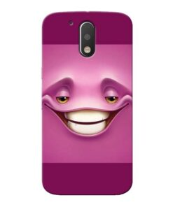 Smiley Danger Moto G4 Mobile Cover