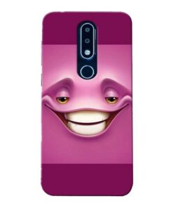 Smiley Danger Nokia 6.1 Plus Mobile Cover
