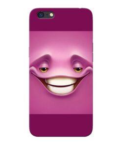 Smiley Danger Oppo A71 Mobile Cover