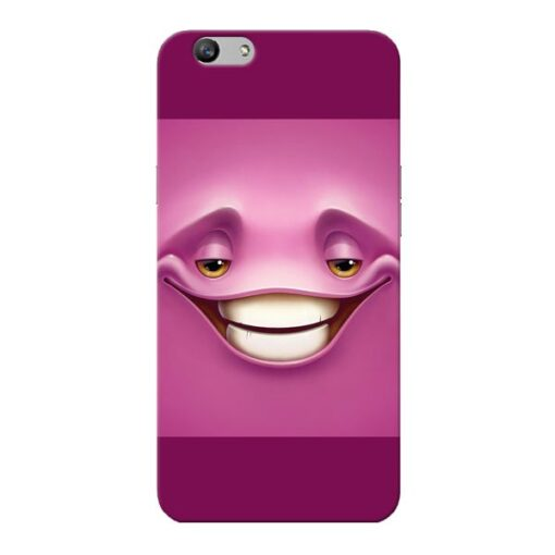 Smiley Danger Oppo F1s Mobile Cover