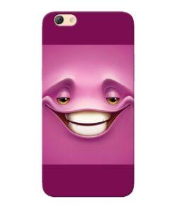 Smiley Danger Oppo F3 Mobile Cover