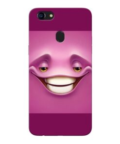 Smiley Danger Oppo F5 Mobile Cover