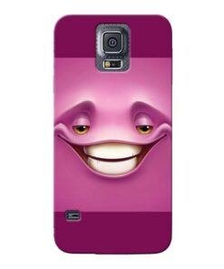 Smiley Danger Samsung Galaxy S5 Mobile Cover