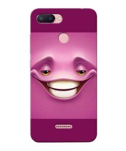 Smiley Danger Xiaomi Redmi 6 Mobile Cover