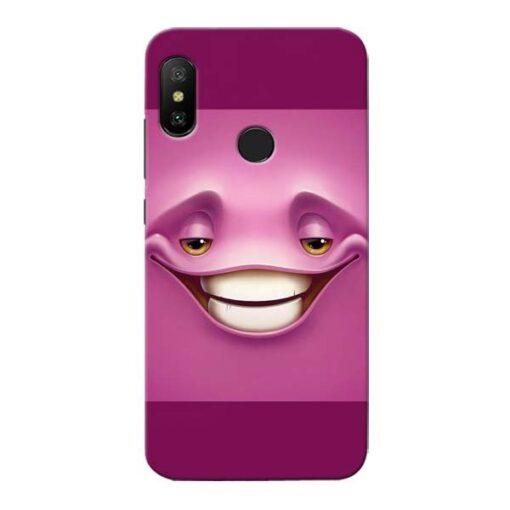 Smiley Danger Xiaomi Redmi 6 Pro Mobile Cover