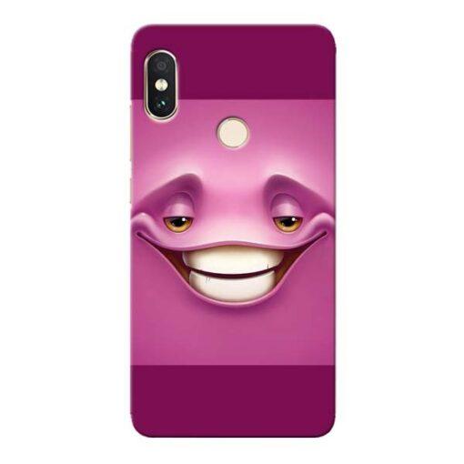 Smiley Danger Xiaomi Redmi Note 5 Pro Mobile Cover