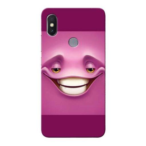 Smiley Danger Xiaomi Redmi Y2 Mobile Cover