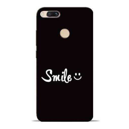 Smiley Face Mi A1 Mobile Cover