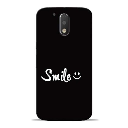 Smiley Face Moto G4 Mobile Cover