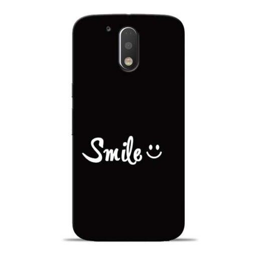 Smiley Face Moto G4 Plus Mobile Cover