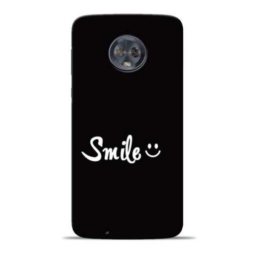 Smiley Face Moto G6 Mobile Cover