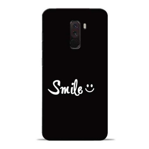 Smiley Face Poco F1 Mobile Cover