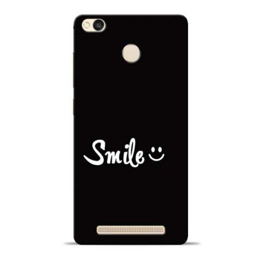 Smiley Face Redmi 3s Prime Mobile Cover