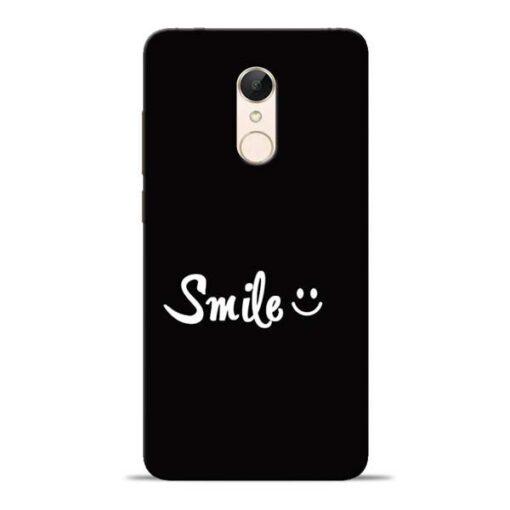 Smiley Face Redmi 5 Mobile Cover