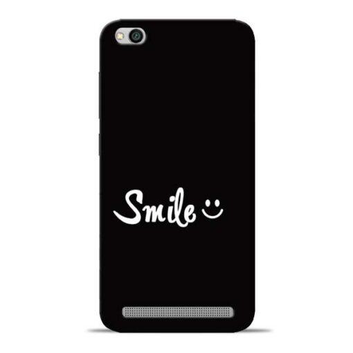 Smiley Face Redmi 5A Mobile Cover