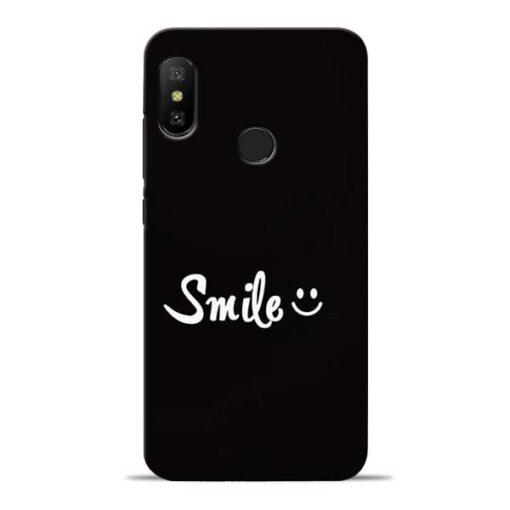Smiley Face Redmi 6 Pro Mobile Cover