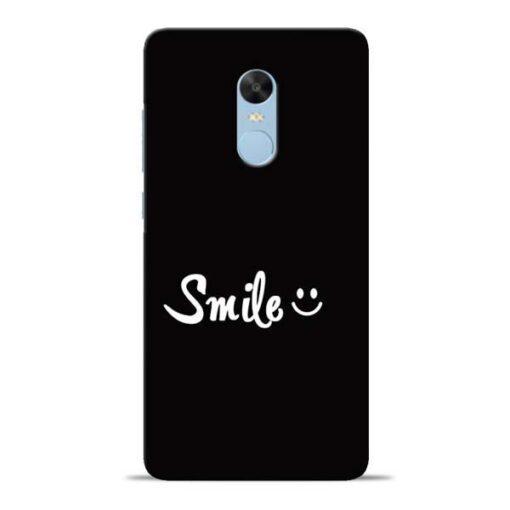 Smiley Face Redmi Note 4 Mobile Cover
