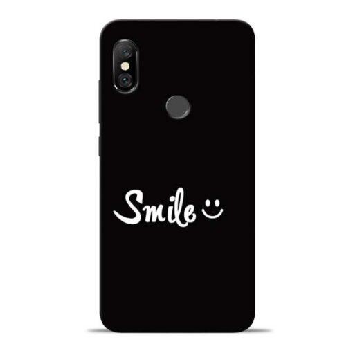 Smiley Face Redmi Note 6 Pro Mobile Cover