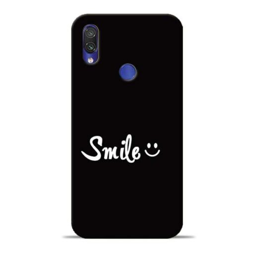 Smiley Face Redmi Note 7 Pro Mobile Cover