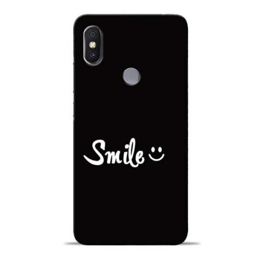 Smiley Face Redmi Y2 Mobile Cover