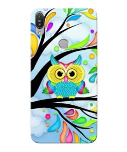 Spring Owl Asus Zenfone Max Pro M1 Mobile Cover