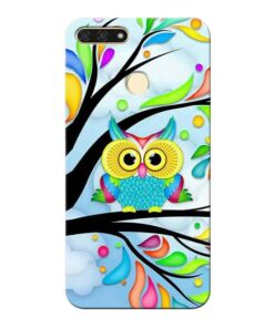 Spring Owl Honor 7A Mobile Cover