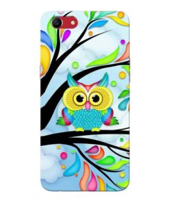 Spring Owl Oppo A83 Mobile Cover