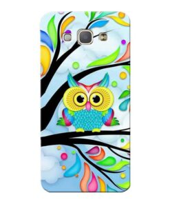 Spring Owl Samsung Galaxy A8 2015 Mobile Cover